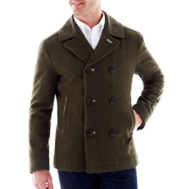 St John S Bay 174 Wool Peacoat Mens Fashion Pinterest