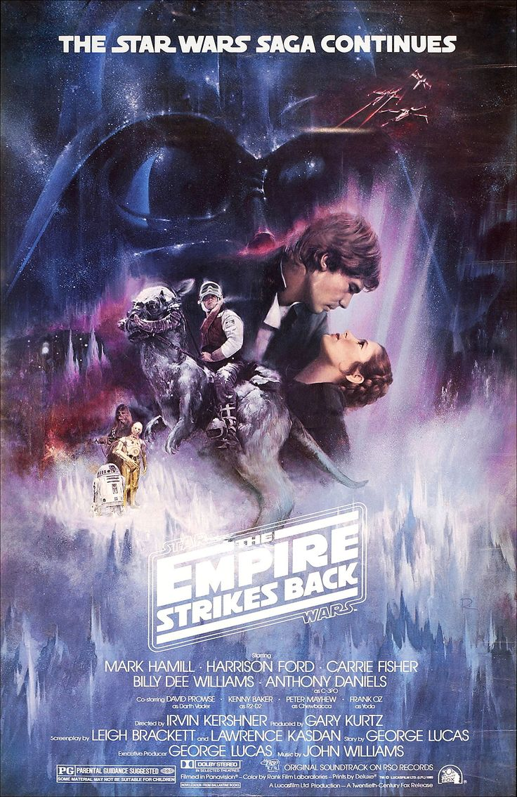 Star Wars: Episode V - The Empire Strikes Back (1980) - still my favourite of all the Star Wars films, love it.