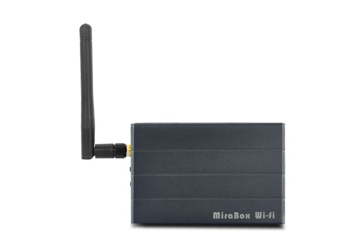Car Wi-Fi Mirabox - Wi-Fi Airplay + Miracast + Allshare Cast, Screen Mirroring for Smart Phones, RCA Output for Car Video