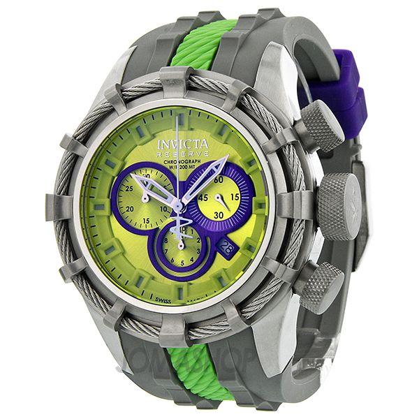 Invicta Bolt Reserve Chronograph Mens Watch 10964 $299