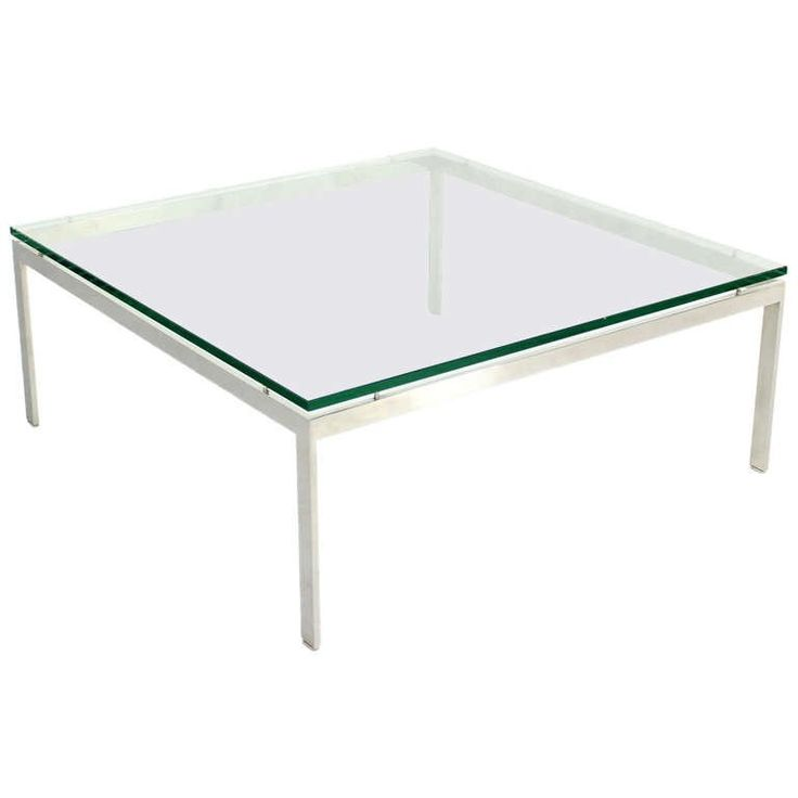 Artimeta Attributed Square Metal And Glass Coffee Table At: 17 Best Ideas About Large Square Coffee Table On Pinterest