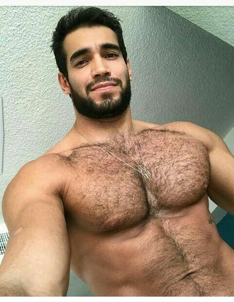 Красивый волосатый мужик — photo 13