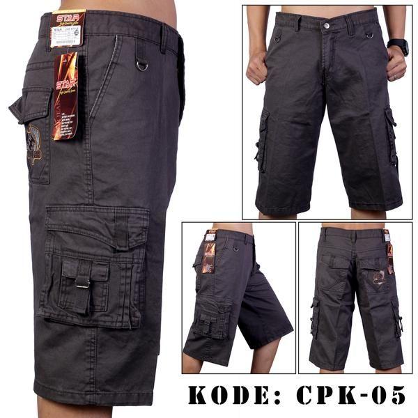 Celana Pendek Pria Kempol bahan Twill  keren dan nyaman dipakai