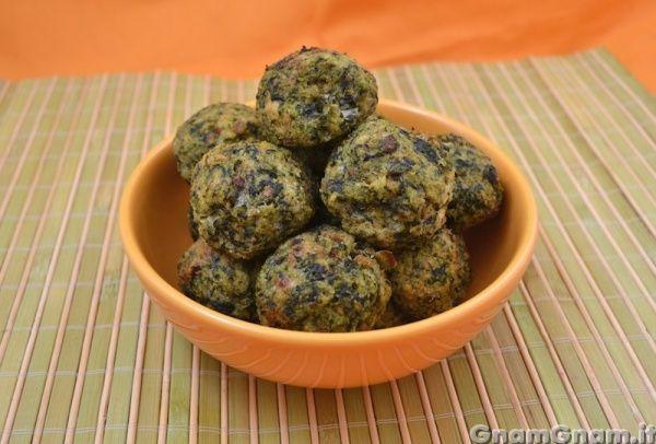 • Polpette di spinaci e stracchino - Ricetta Polpette di spinaci e stracchino di GnamGnam
