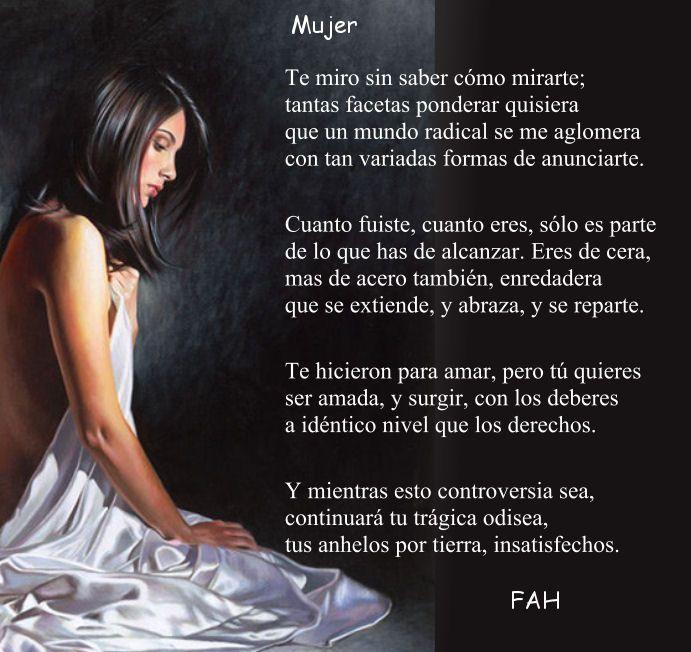 Mujer, soneto de FAH