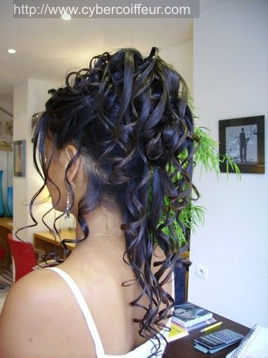 coiffure boucles