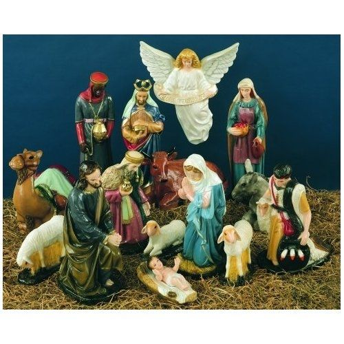 vintage nativity sets from walgreens