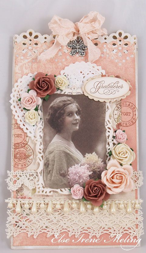 Wild Orchid Crafts: A paperbag card :)