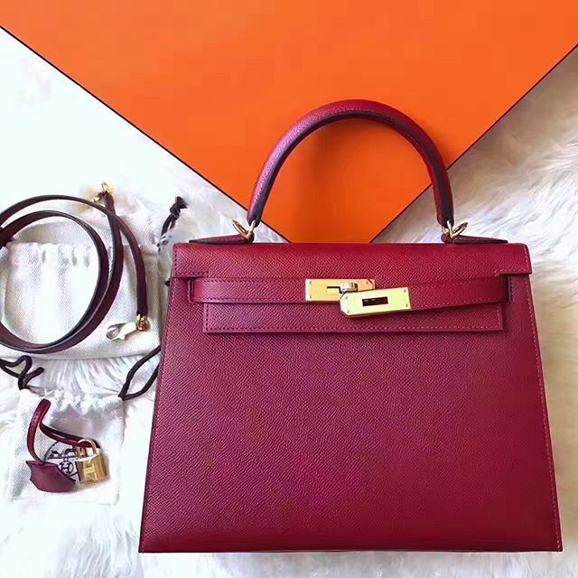 """'Kelly 28 cm epsom leather Kelly mini alligator crocodile orange poppy GHW In stock : WhatsApp +66839177259 (need more pictures) ############################# We only professional sell H bags, Quality like authentic,  Bag come with orange box / dustbag / certificate / raincoat  Welcome to order,  Best service: ---------------------------------------- Contact me for more details : LINE ID : @zte0648d [have""""@""""] (I updated pictures of available items on we chat every day) Whats App…"""