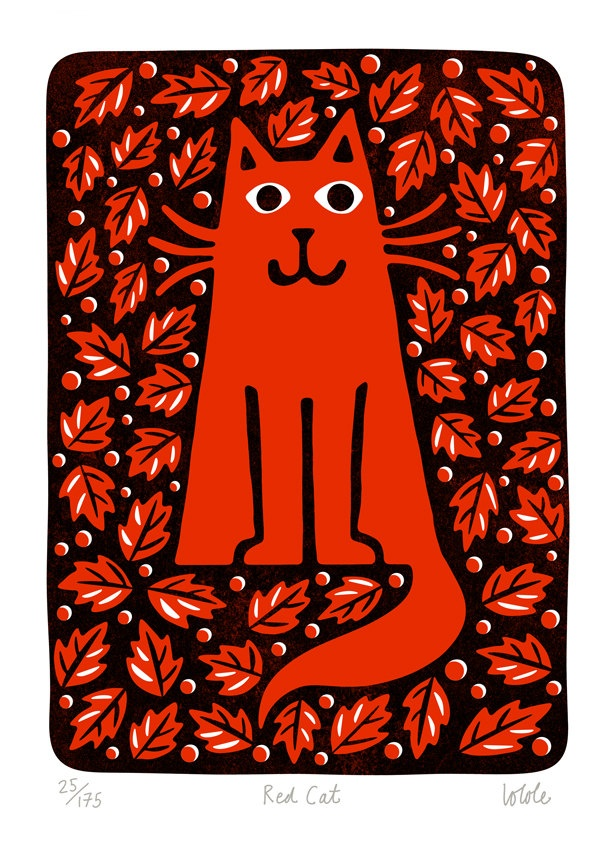 Lo Cole - Red Cat