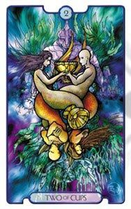 Revelations Tarot - reminiscent of stained glass, with double-ended art - helpful for reversal readings