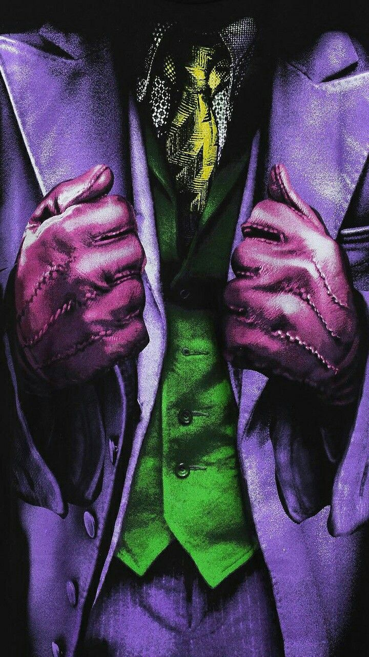 The Joker, el guasón ropa de cerca