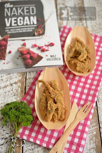 """Bake for Happy Kids: Vegan Crispy Non-fried """"Non-baked"""" Mushroom """"Calam..."""
