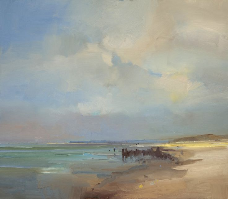 David Atkins, Early Morning Light, West Wittering