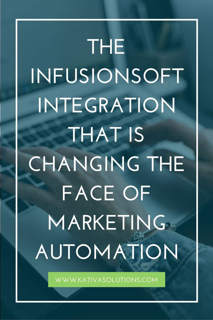 This Infusionsoft integration is game changing. It takes marketing automation and email marketing to the next level.