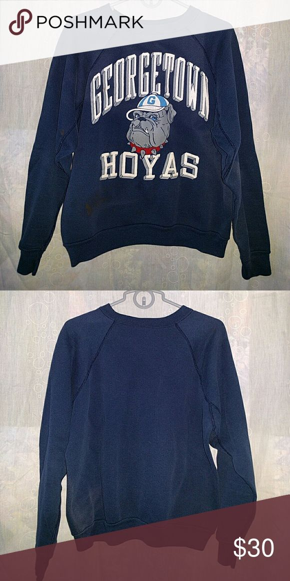 Vintage Georgetown Hoyas Sweatshirt Vintage Georgetown Hoyas sweatshirt Discus Athletic Shirts Sweatshirts & Hoodies