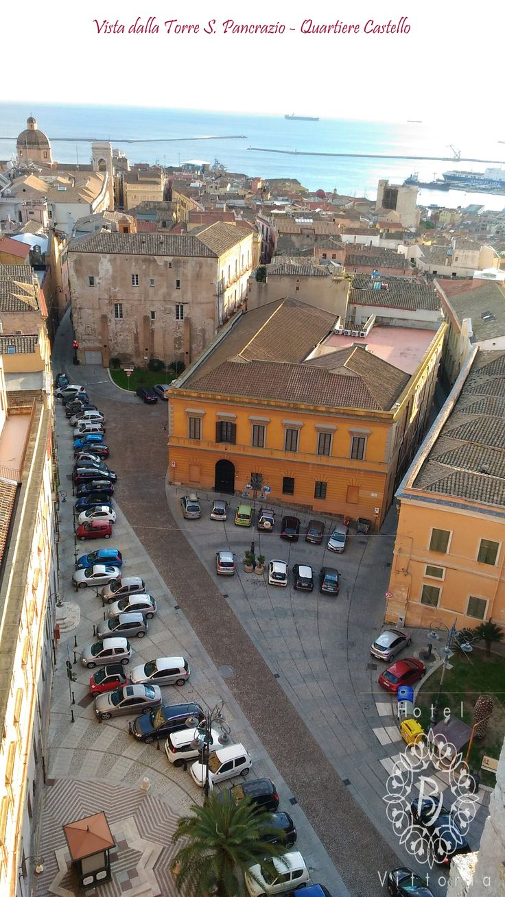 www.hotelbjvittoria.it #vista #castello #view #monument #cagliari #italy #sardinia #beautiful #like4like #lovecity #lanuovasardegna #