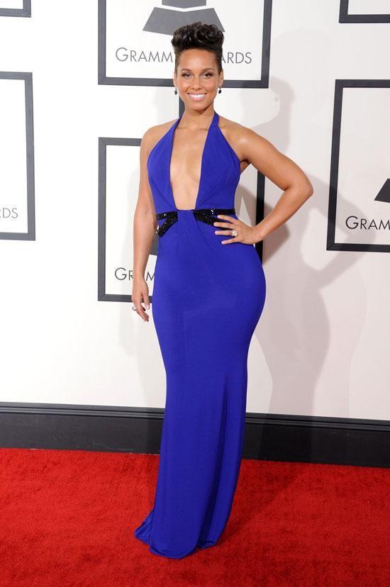 Alicia Keys Grammy Awards 2014