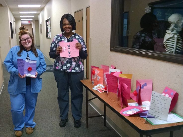 Ross Medical Ann Arbor Makes Valentines for Veterans #RossMedical #Education #Michigan #Valentines