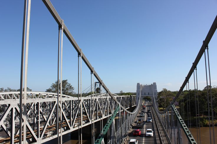 Walk across the Walter Taylor Bridge and take a peek inside the bridge pylon. It spans the Brisbane River from Indooroopilly to Chelmer, and is a rare style of bridge with national significance #boh2014 #unlockbrisbane #brisbane #discoverbrisbane