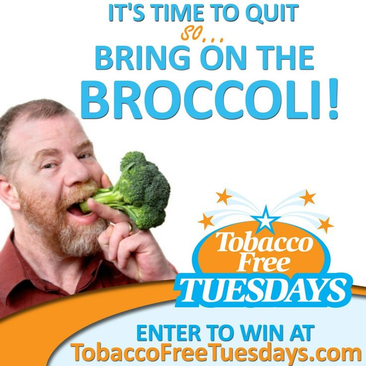 Every first Tuesday of the month is a new contest and a new chance to start fresh! http:/tobaccofreetuesdays.com