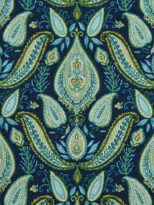 Paisley Upholstery Fabric Yardage Peacock by greenapplefabrics, $39.00. Maybe for seat covers in a dining room