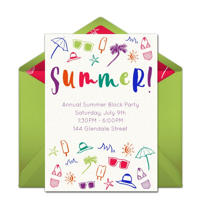 1000 images about Free Party Invitations – Invitations to a Party