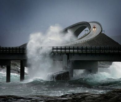 The Most Dangerous Road In The World – THE ATLANTIC OCEAN ROAD! A Route With A Spectacular Ocean View!