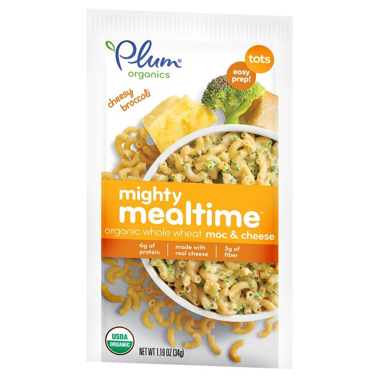 Plum Organics Mighty Mealtime Broccoli Pasta - 1.19oz