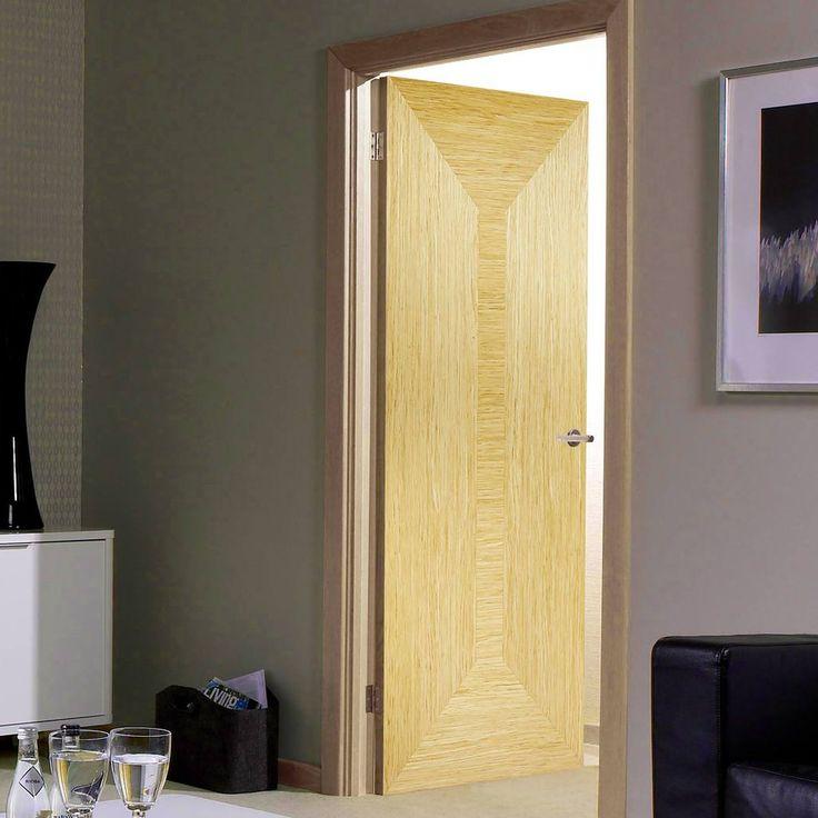 Bespoke Triumph Oak Flush Fire Rated Door - Prefinished.    #oakdoor #internaldoor #firedoor #bspokedoor #bespokefiredoor #moderndoor
