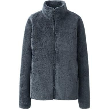 Mens Fluffy Fleece Jacket