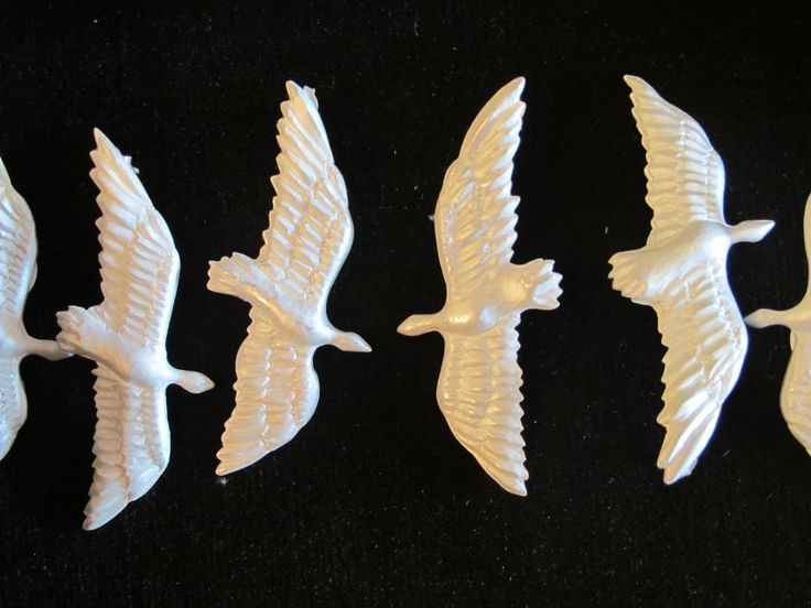 Aretes Aves del Paraíso. Plata 925. Cada par: $360.000, no incluye el envío.
