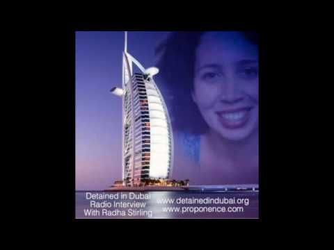 ABC Radio Interview With Radha Stirling, Detained In Dubai.