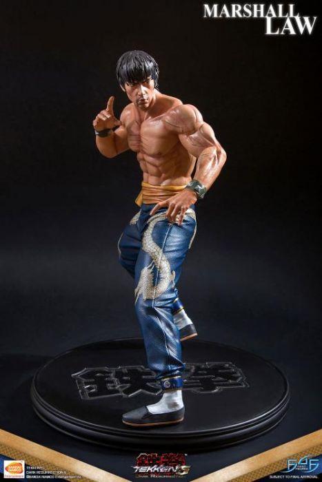 Tekken 5 Dark Resurrection Marshall Law Statue