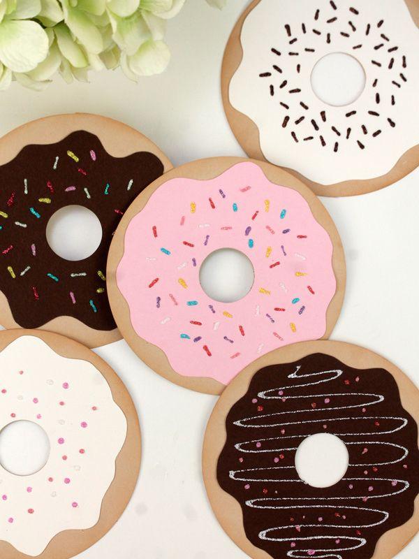 Simple Donut Valentine's   Damask Love Blog