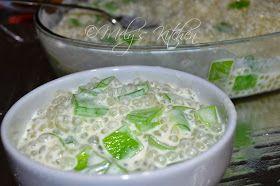Tapioca pearl, tapioca dessert, sago, Filipino food