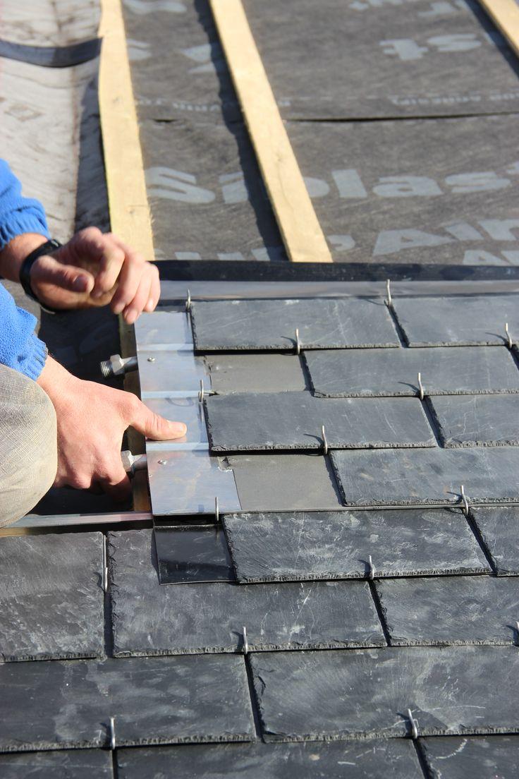 Les 25 meilleures id es concernant toiture ardoise sur for Pose de panneaux solaires sur toiture
