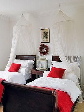17 mejores ideas sobre camas gemelas en pinterest camas - Habitaciones juveniles dos camas ...