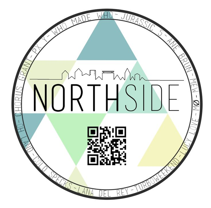 Nothside sticker design. By Kia Lange.