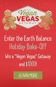 Submit your best cake recipe in the Earth Balance Holiday Bake-off!