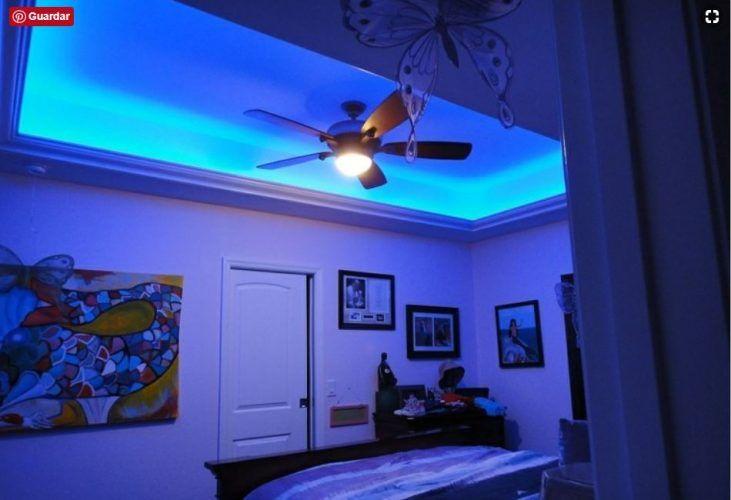 Ideas Para Decorar Con Luces Led Ahora Y Decora Al Mismo Tiempo Decorar Con Luces Led Luces Led Habitacion Luces Habitacion