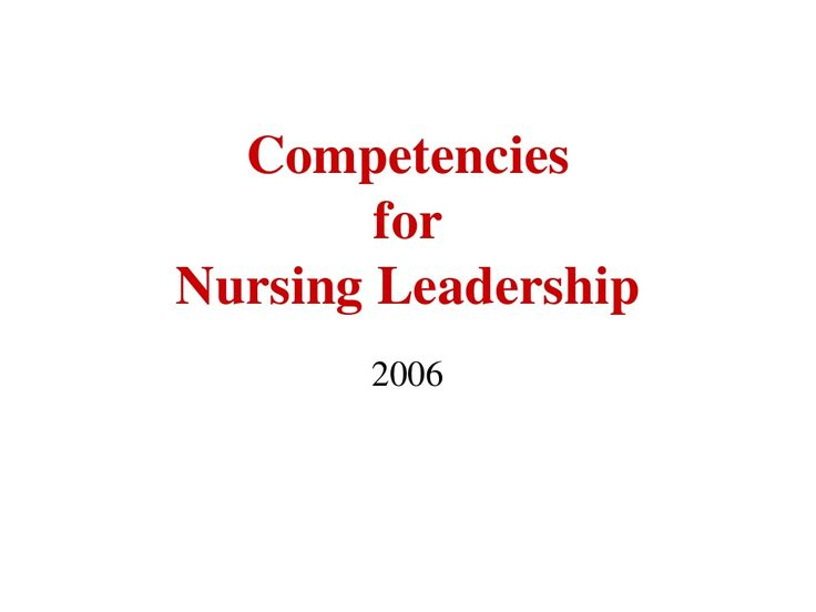 aone-competencies-for-nurse-managers-and-nurse-executives by Jack78 via Slideshare