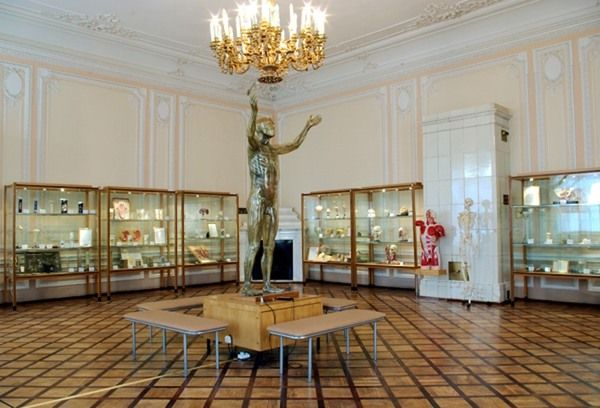 This Russian museum stresses the importance of keeping clean and even holds one of Pavlov's dogs