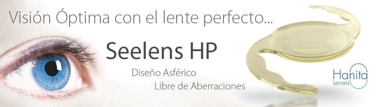 SeeLens HP de Hanita Lenses, Lentes intraoculares Hidrofobicos libres de aberraciones