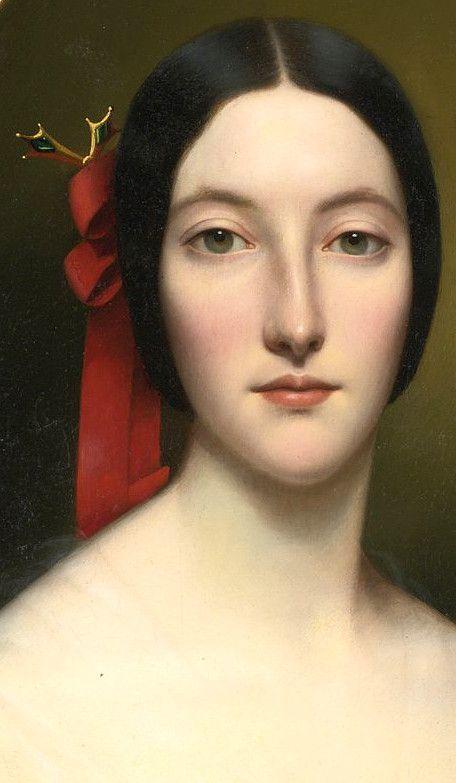 French School, 19th Century, PORTRAIT OF A LADY