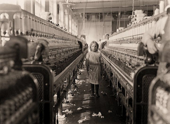 Lewis Wickes Hine. America - American History - Women's Rights - Child Labor - The Great Depression.