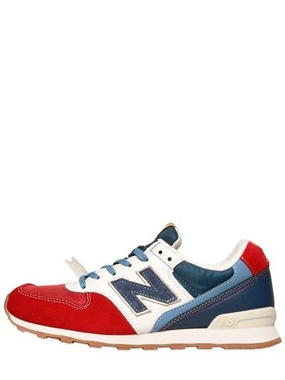 new balance red gingham