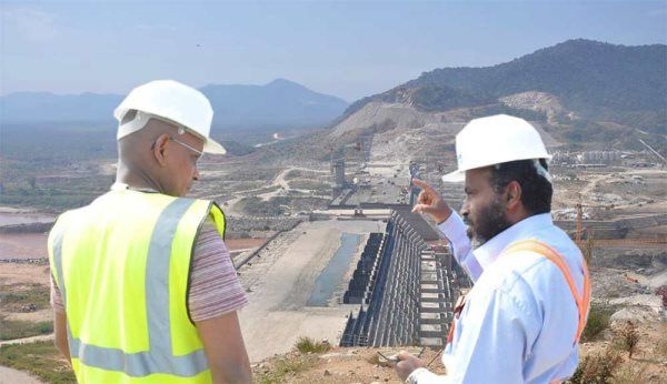 The greatest public works project in Africa will reach a critical stage this year. The Grand Ethiopian Renaissance Dam, on the Blue Nile, is more than halfw