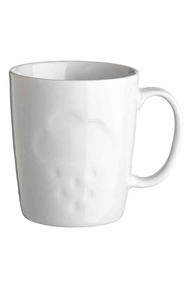 Tasse en porcelaine - Blanc/nuage - Home All | H&M FR 1