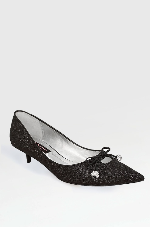 Kitten heel pump by Nina Shoes, $89